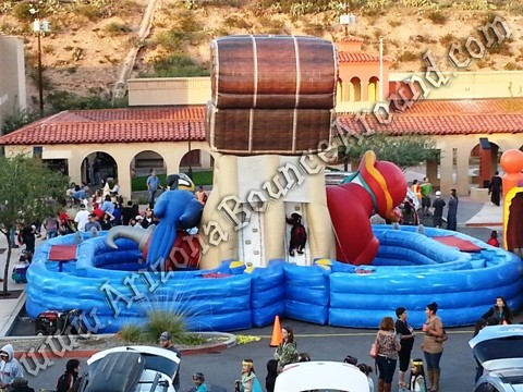 Pirate themed obstacle course rental Arizona